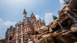 Good Morning from Storybook Castle at Shanghai Disneyland