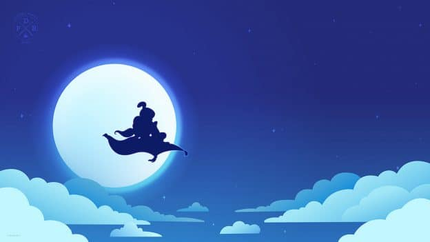 Aladdin Takes Magical Flight In New Disney Parks Blog Digital Wallpaper Disney Parks Blog