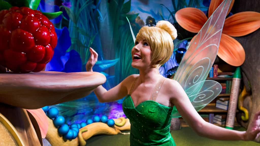 Tinker Bell at Magic Kingdom Park