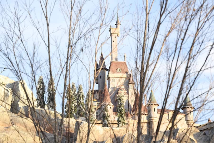Beast Castle in Magic Kingdom Park