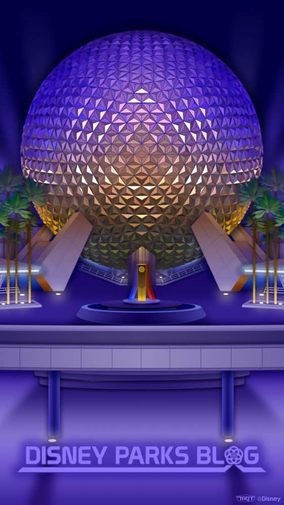 Classic Epcot Center Wallpaper 750x1333