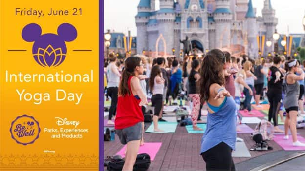 2019 International Yoga Day at Walt Disney World Resort