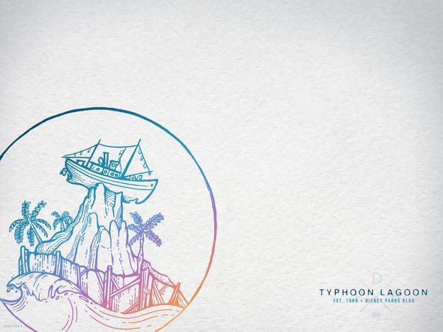 Typhoon Lagoon 30th Anniversary Wallpaper 1024x768