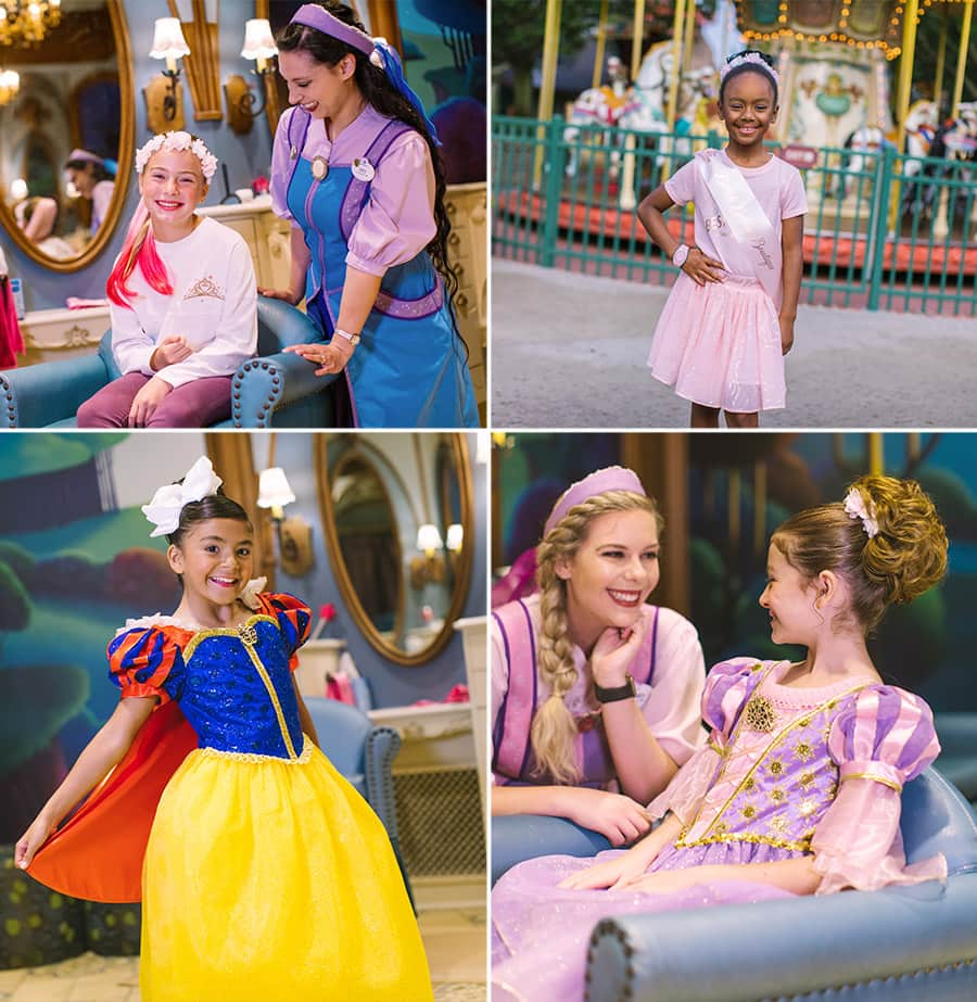 Bibbidi Bobbidi Boutique makeovers at Walt Disney World Resort
