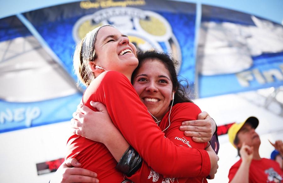 Female runners at Walt Disney World Marathon Weekend
