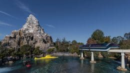Disneyland Monorail, Matterhorn Bobsleds and Submarine Voyage at Disneyland Park