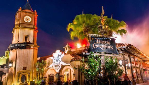 Pirates of the Caribbean at Magic Kingdom Park