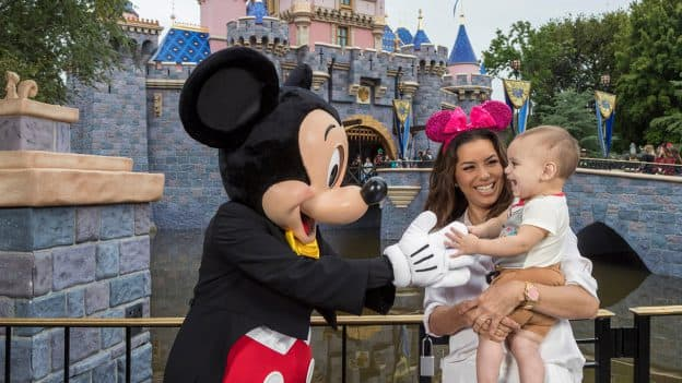 Eva Longoria at Disneyland Park
