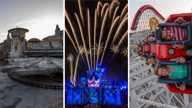"Star Wars: Galaxy's Edge, ""Disneyland Forever"" fireworks, and Incredicoaster at Disneyland Resort"