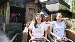 Riding Expedition Everest at Disney's Animal Kingdom