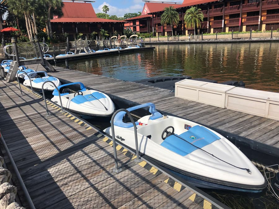 Sea Raycer rentals at Disney's Polynesian Village Resort