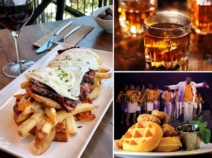 Dining options from Disney Springs