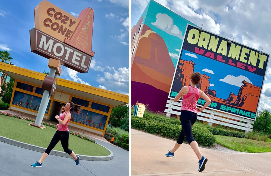 Running Trail at Disney's Art of Animation Resort