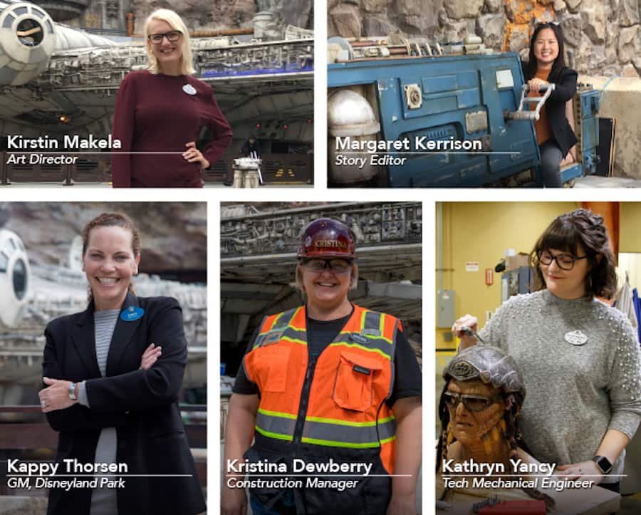 Women who brought Star Wars: Galaxy's Edge to life