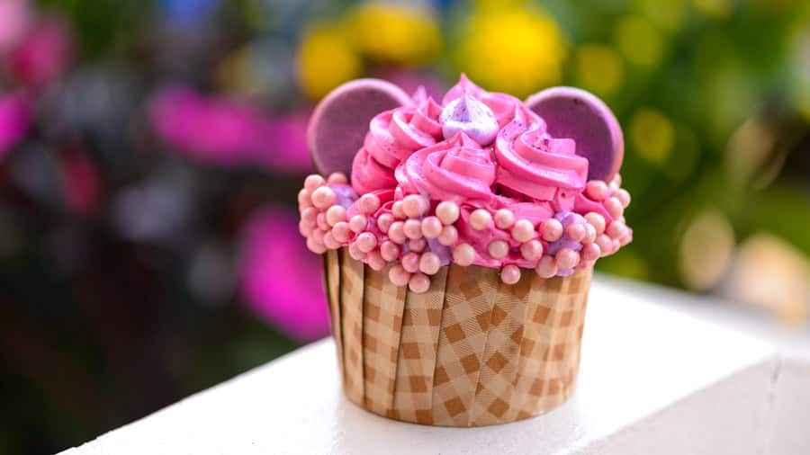 Imagination Pink Cupcake from Disney's Caribbean Beach Resort and Disney's Port Orleans Resort