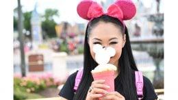New Imagination Pink Minnie ear headband at Disney Parks