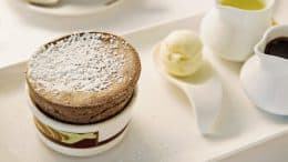 Disney Cruise Line's Palo Chocolate Soufflé