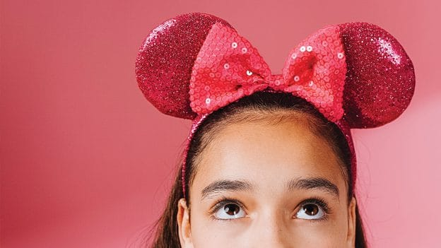 Imagination Pink Minnie Ear Headband from Disney Springs