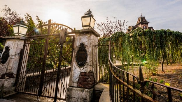 Phantom Manor at Disneyland Park in Paris