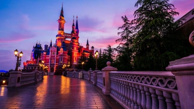 Enchanted Storybook Castle at Shanghai Disneyland
