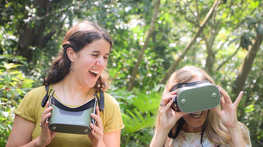Kilimanjaro Safaris Virtual Reality Experience for Circle of Flavors: Harambe at Night at Disney's Animal Kingdom Theme Park