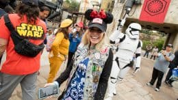 The First Guests Arrive at Star Wars: Galaxy's Edge at Disneyland Park on Opening Day