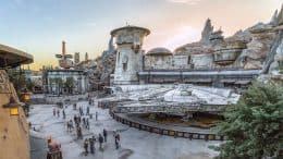 Millennium Falcon: Smugglers Run - Star Wars: Galaxy's Edge - Batuu - Disneyland Park - Disneyland Resort - 5/17/19. (Joshua Sudock/Disneyland Resort)