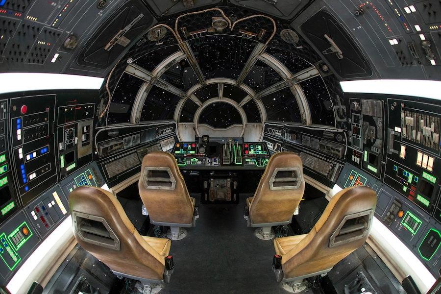 Inside Millennium Falcon: Smugglers Run at Star Wars: Galaxy's Edge