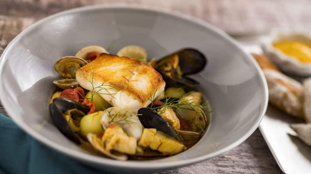 Bouillabaisse from Topolino's Terrace – Flavors of the Riviera at Disney's Riviera Resort