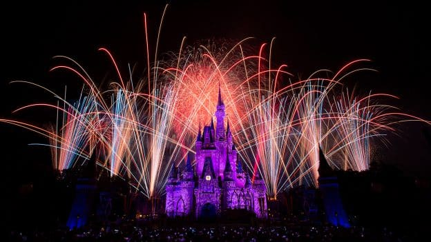 Fireworks at Walt Disney World Resort