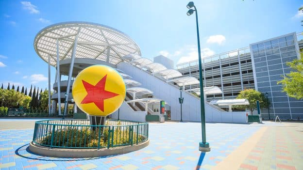 Pixar Pals Parking Structure