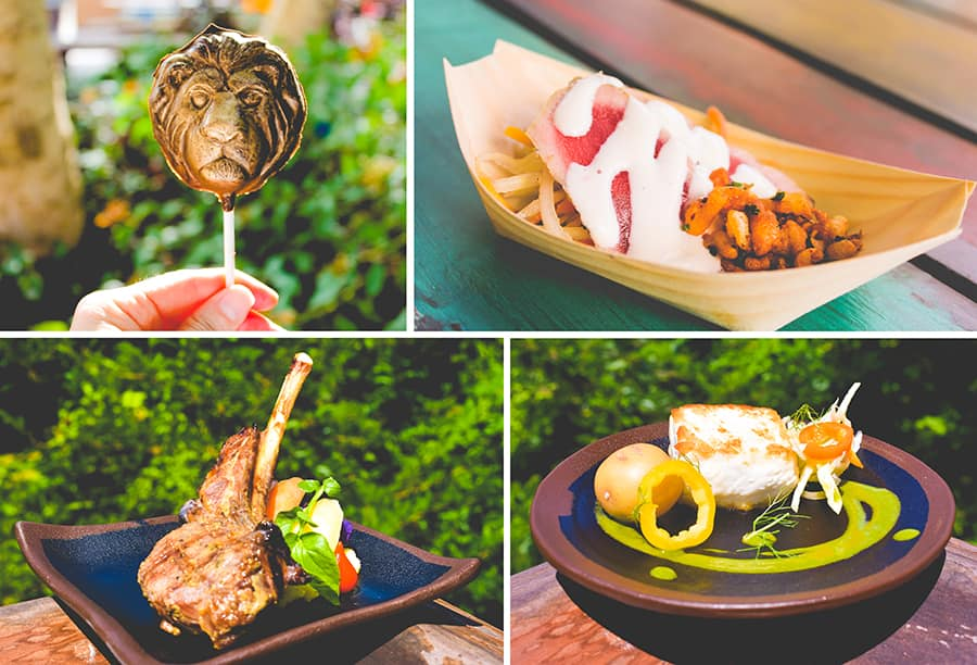 Food Offerings for Circle of Flavors: Harambe at Night at Disney's Animal Kingdom Theme Park