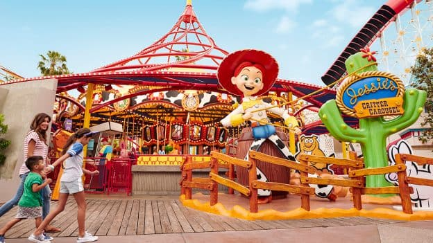Enter Pixar Pier Rootin' Tootin' Sweepstakes for a Chance to