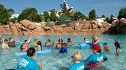 "10th annual ""World's Largest Swimming Lesson"" at Disney's Blizzard Beach"