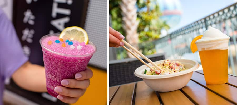 Disney Springs Flavors of Florida Offerings from YeSake