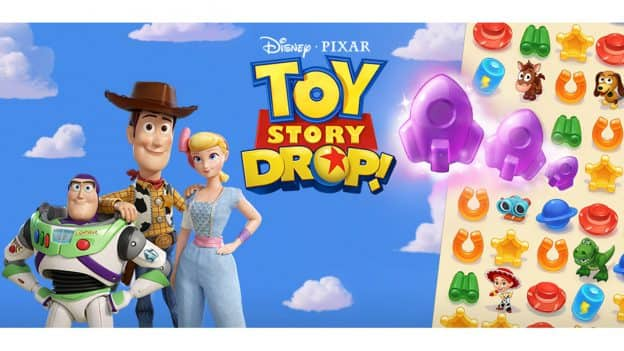 Toy Story Drop! Logo