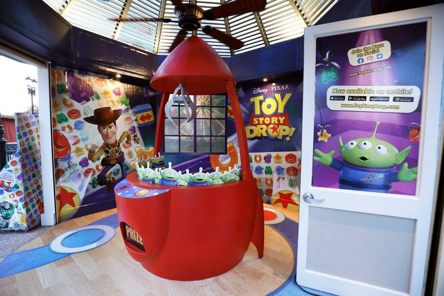 Toy Story Drop! pop-up experience at Disney Springs