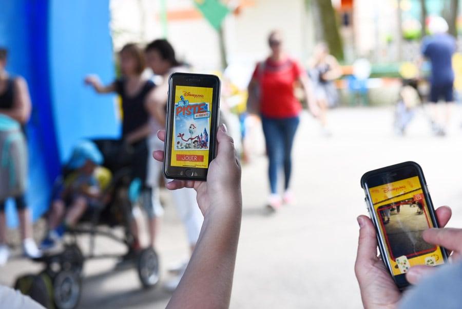 Digital scavenger hunt to find Forky at Walt Disney Studios Park at Disneyland Paris