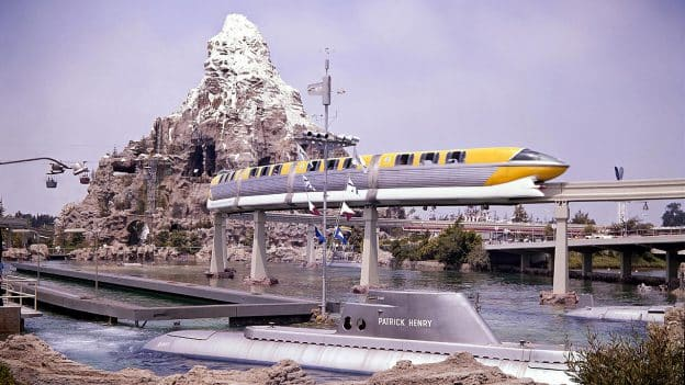 Today in Disney History: Disneyland-Alweg Monorail, Matterhorn