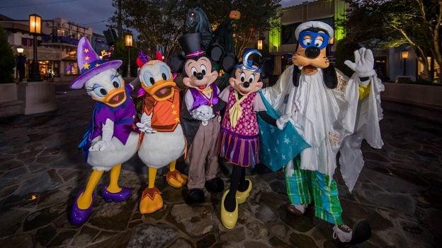 Disney Characters Halloween Costumes
