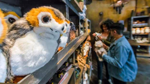 Porgs at Dok-Ondar's Den of Antiquities