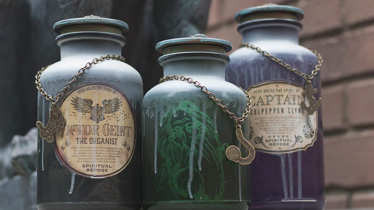 Ghoulish Gifts and Mortal Mementos to Commemorate Haunted Mansion