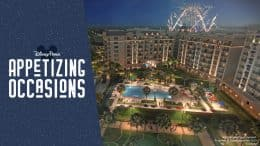 Appetizing Occasions: Celebrate New Year's Eve 2019 with Amazing Events at Walt Disney World Resort, featuring rendering of Disney's Riviera Resort