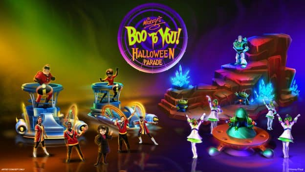 'Mickey's Boo to You Halloween Parade' at Magic Kingdom Park rendering