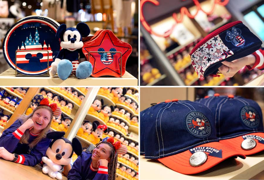 American-inspired merchandise from World of Disney at Disney Springs
