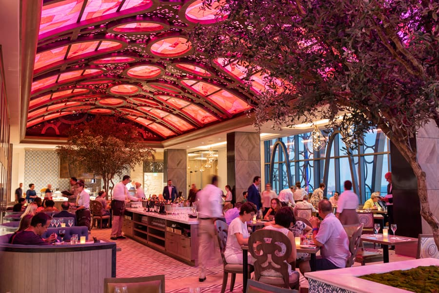 Tolédo – Tapas, Steak & Seafood, the new rooftop restaurant at the top of Gran Destino Tower at Disney's Coronado Springs Resort
