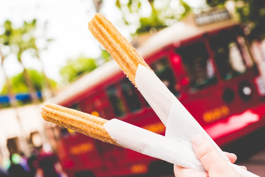Churros at Disney California Adventure Park