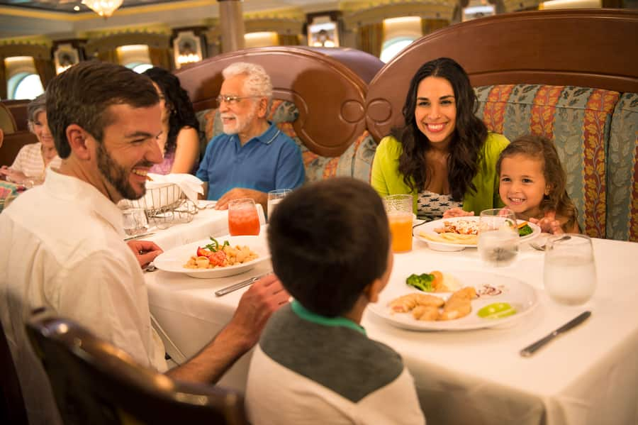 Dining with Disney Cruise Line