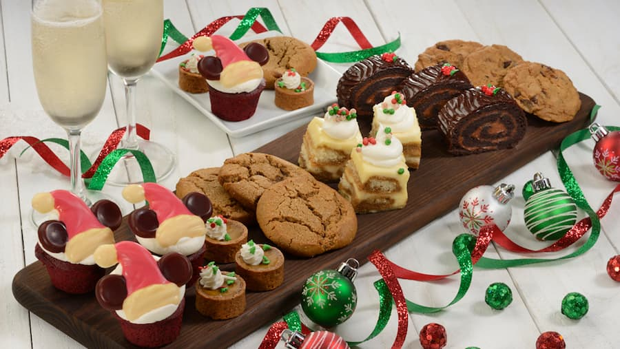 Sweets offered during Tony's Most Merriest Town Square Party