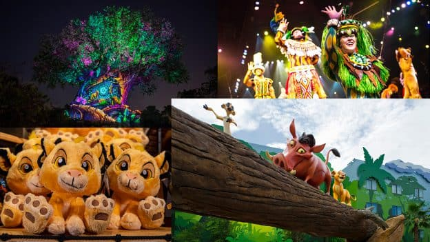 'The Lion King' Experiences At Walt Disney World